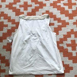 Talbots Tops - White Talbots Petite Medium Top